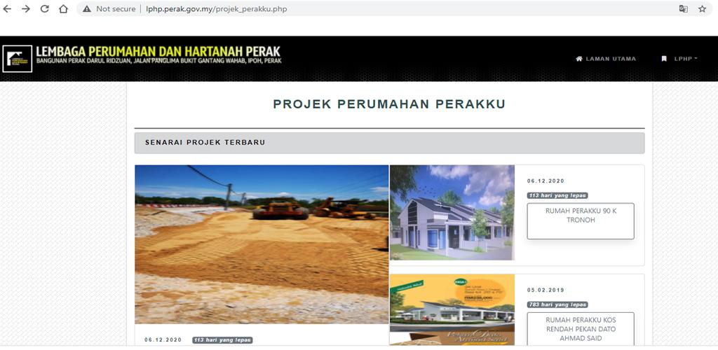 Warga Perak rebut peluang mohon rumah mampu milik serendah RM70,000