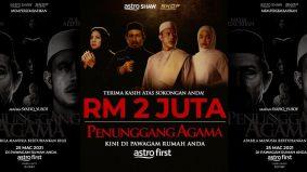 Raih RM2 jutadi Astro First, Penunggang Agama bakal ditayangkan diSingapura