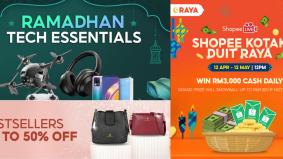 Jualan mengejut Shopee sepanjang Ramadan, jangan lepaskan peluang keemasan
