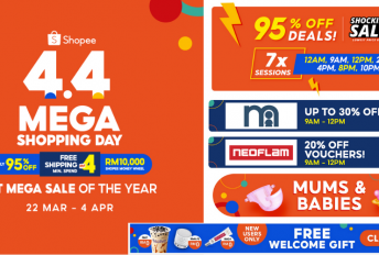 Shopee 4.4 Mega Shopping Day