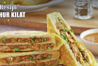 Roti murtabak ayam, menu sahur mengenyangkan