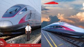 Hanya 45 minit Jakarta-Bandung, kereta api laju jadi pilihan kaki travel
