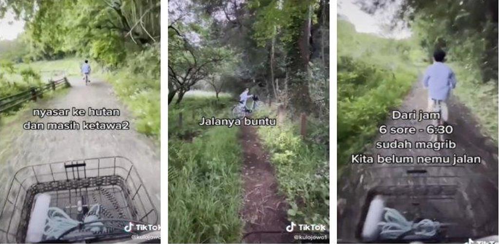 [VIDEO] Pemuda Indonesia sesat di hutan Jepun, gara-gara ikut Google Maps