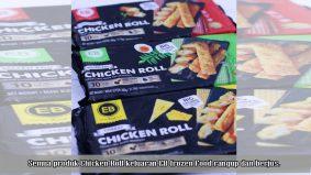 EB Chicken Roll hasilkan tiga perisa berbeza, wajib cuba!