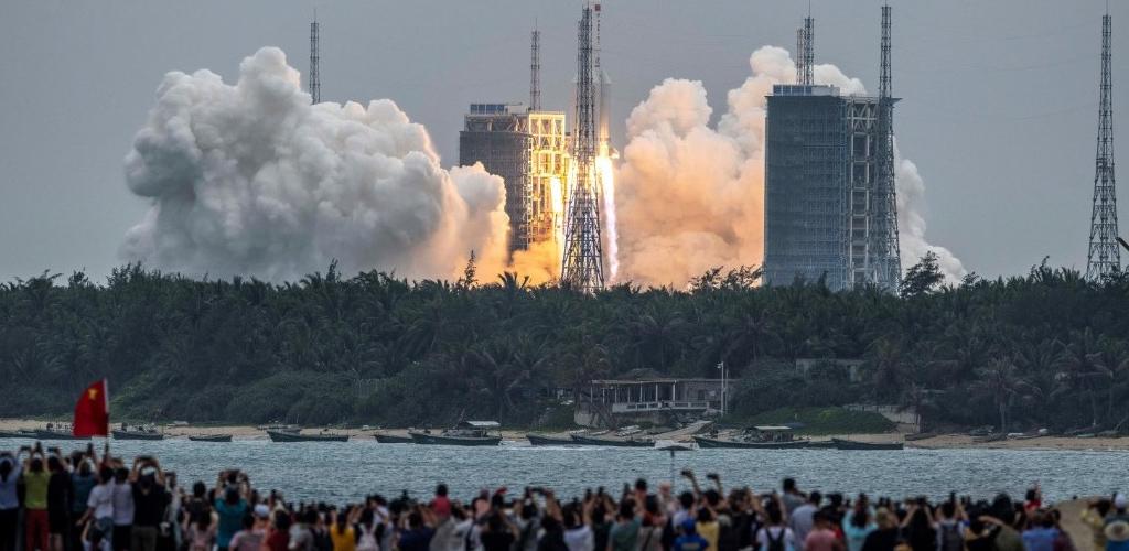 Leganya! Roket China akhirnya terhempas di Lautan Hindi, antara laut yang kuat arusnya