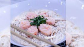 Resipi Bihun Sup Prawn Leaf enak, ringkas dan mengenyangkan