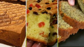 3 resipi kek popular Azlina Ina. Lembut dan gebu, tak jemu makan