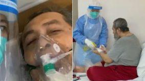 [VIDEO] Sempat penuhi permintaan terakhir untuk berwuduk sebelum ke ICU, anak reda kini bapa tiada lagi