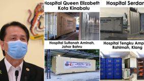 Gelombang ketiga makin tenat, lagi hospital sedia kontena. Bilik mayat sudah tidak mampu tampung jenazah Covid-19