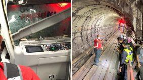 LRT 'bertembung' insiden pertama tempoh 23 tahun. 47 parah, panel kaca pecah bertaburan