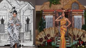 Kampungku jadi tema kostum Miss Universe Malaysia 2020
