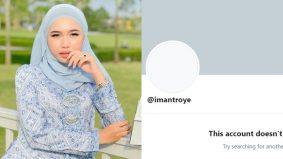 Trending di Twitter, Iman Troye nyahaktif akaun selepas dikecam