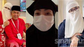 """""""Jangan suka-suka kecam mereka berniqab tidak memakai mask""""- Datuk Nurul Hidayah"""