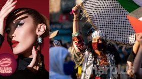 #SiBibirMerah: Bella Hadid tak peduli kecaman Israel, ketepikan kemasyuran demi #FreePalestine