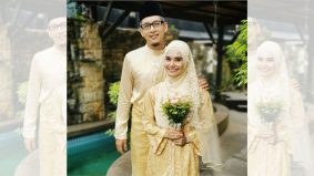 Sempat nikah sebelum PKP 3.0, Rafidah Ibrahim kongsi wajah suami