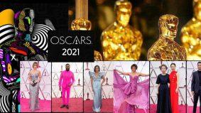 Di sebalik pandemik Covid-19, Oscars 2021 tetap berlangsung. Ini busana yang curi perhatian di karpet merah