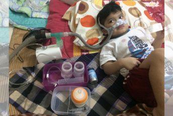 izz anak autisme dijangkiti adenovirus
