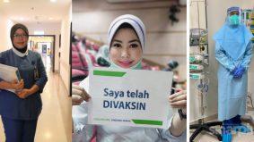 """""""Ini amanah kami"""", 3 jururawat tabur kudrat kerja pada pagi 1 Syawal"""