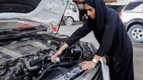 Ceburi bidang automotif, gadis bangga jadi mekanik
