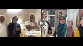 [VIDEO] #rutinharianchallenge mencuit hati, ibu ayah pun tak percaya