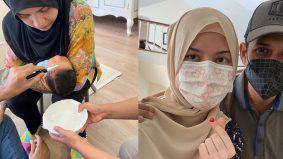 Warganet puji majlis aqiqah anak Lisa, Yusry ikut SOP, agih makanan kepada golongan asnaf