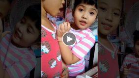 "[VIDEO] ""Mana nak cari duit ni… duduk rumah goyang kaki""- Budak perempuan nyanyi lagu PKP curi perhatian"