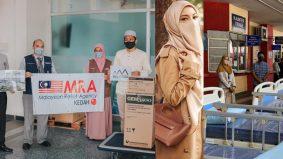 Inspirasi usaha Neelofa, agensi hulur bantuan kelengkapan hospital