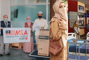 Sumbang RM105,000 keperluan