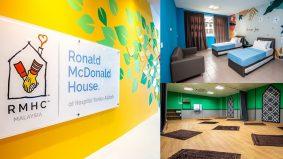 Hanya RM15 semalam, Rumah Ronald McDonald di Hospital Tunku Azizah untuk keluarga pesakit