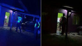 [VIDEO] Wanita meraung kesakitan, dakwa dipukul suami. Jiran segera report polis