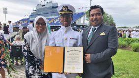 Pegawai kadet TLDM lulus akademi laut berprestij AS, jadi kebanggaan rakyat Malaysia!