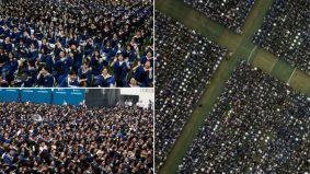 Hebatnya! 11,000 pelajar di Wuhan, bandar asal Covid-19 graduasi tanpa pelitup muka, penjarakan fizikal