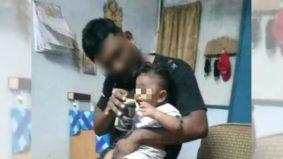 Bapa muda beri bayi minuman keras ditahan, ada 14 rekod jenayah lampau