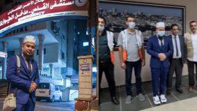 Team Ebit pertama dunia masuk ikut Pintu Rafah, diiringi kereta perisai tentera Mesir