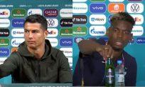 [VIDEO] Semalam Ronaldo, kini Pogba alihkan minuman keras penaja Euro 2020