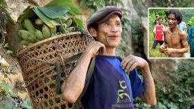 Lelaki 'tarzan' tak tahu wanita wujud, 43 tahun tinggal di hutan kerana perang