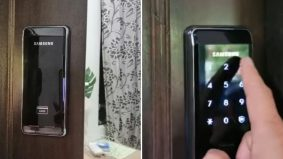 Penangan isteri peminat K-drama, suami sanggup pasang digital door lock di rumah