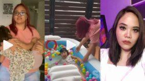 [VIDEO] Prank letak anak tidur di dalam kolam, netizen kritik tindakan Norreen