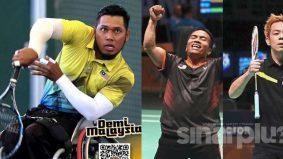 Tahniah! Tiga lagi atlet para negara tempah slot ke Sukan Paralimpik Tokyo 2020