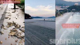 [VIDEO] Pantai Cenang ibarat 'ghost town', dulu meriah, kini berteman daun kering