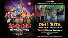 Kampong Pisang Musikal Raya Istimewa raih RM1 Juta dalam masa 4 hari