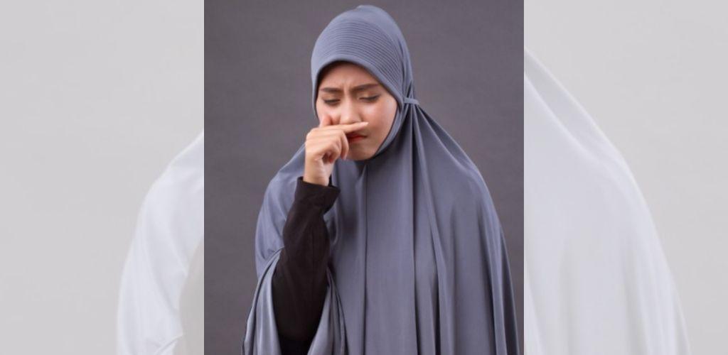 Bersin ketika membaca Surah al-Fatihah