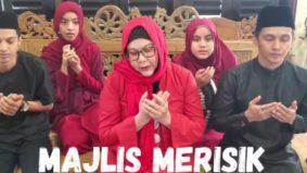 Majlis merisik secara maya, Erma Fatima sekeluarga dipuji warganet