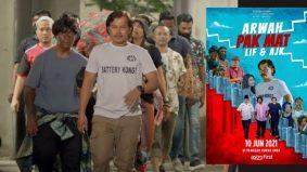 Komedi satira jadi taruhan filem Arwah Pak Mat, Lif & AJK