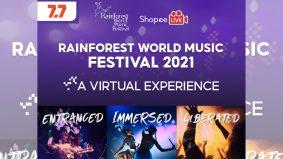 Wow! Rainforest World Music Festival kembali, tonton secara percuma di samping beli-belah produk dari Sarawak