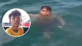 Remaja 14 tahun 'tersadai' di tengah lautan selepas dicampak dari bot laju. Apa nasibnya selepas itu?