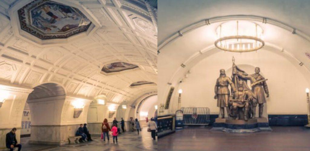 6 stesen kereta api terindah ada Moscow, masih kekalkan keunikan tradisi