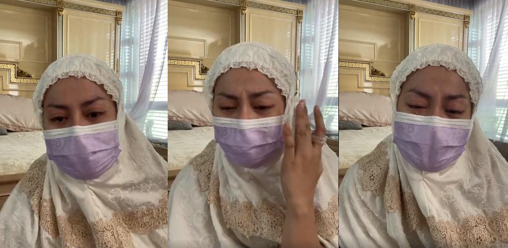 [VIDEO] Hampir 2 jam tunggu di dalam ambulans, katil hospital swasta penuh, Rebecca panik suami stage 4 Covid-19