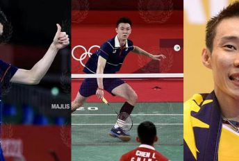 """""""Usah kecewa, Olimpik pertama kot, siapa tak cemas"""" - nasihat otai Chong Wei"""