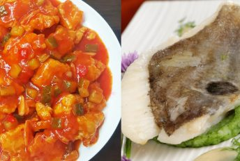 Ikan dori lembut, enak dimasak masam manis
